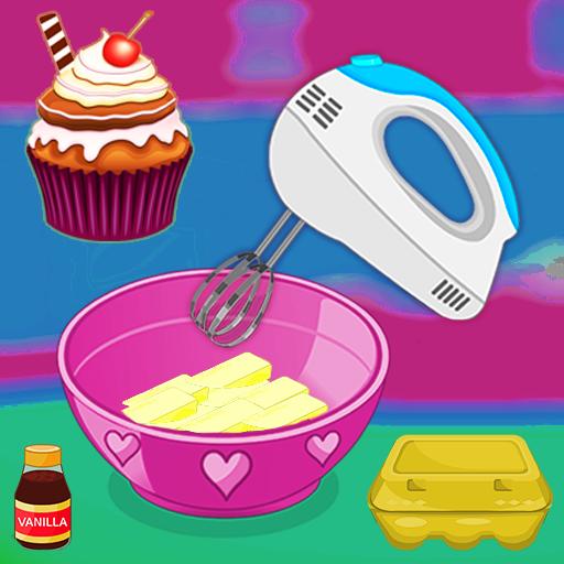 لعبة الطبخ - الخبز كب كيك
