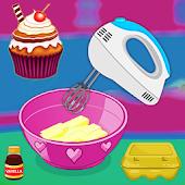 icono Juego de cocina - Magdalenas para hornear