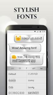 Silver Keyboard - Free Emoji & Gif