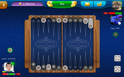 Backgammon LiveGames - live free online game 4.01 screenshots 16