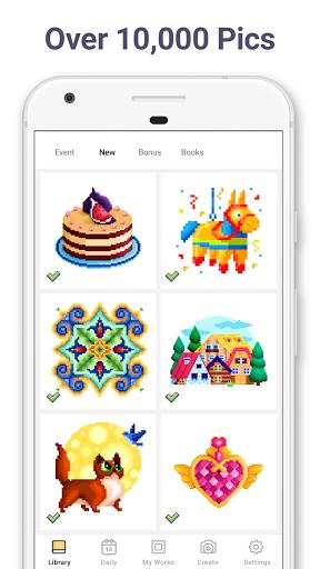 Pixel Art: Color by Number 6.5.0 screenshots 2