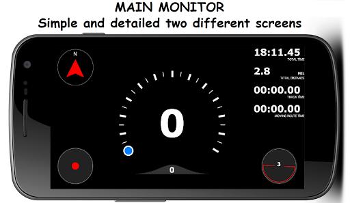 G Peak Lite bike computer speedometer screenshot 1