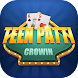 Teen Patti Crowin - カードゲームアプリ