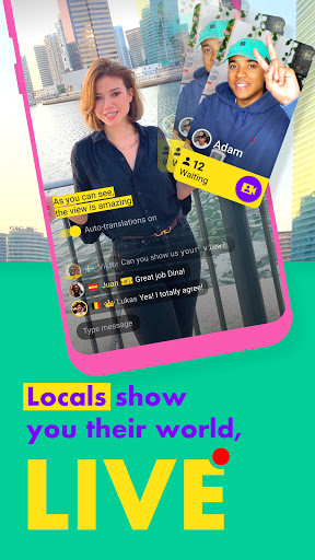 Ablo - Make friends worldwide apktram screenshots 2