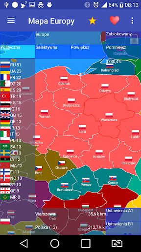 Europe map free 1.48.1 Screenshots 1