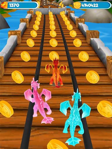 Flying Dragon Run - Dragon World Dino Simulator 1.2.0 screenshots 9