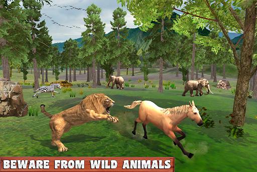 Horse Family Jungle Adventure Simulator Game 2020 screenshots 13