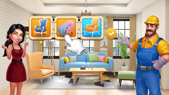 Merge Home  – Design Dream – Decor Mansion Mod Apk 1.0.5 (Lots of Money) 7