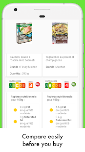 Open Food Facts - Scan to get Nutriscore/EcoScore