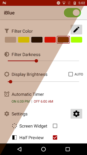 Bluelight Filter 7.3.3 Screenshots 3