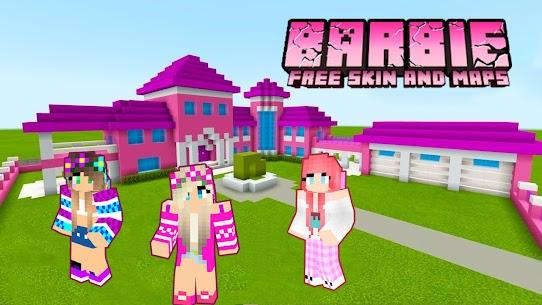 Skins ???? Barbie Craft For Minecraft PE 2021 Apk Download 2021 5