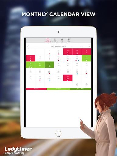 Ladytimer Ovulation & Period Calendar android2mod screenshots 9