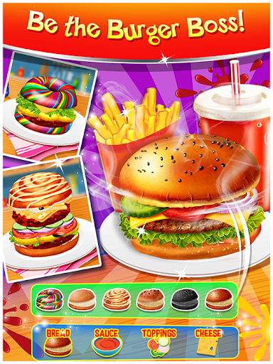 Happy Kids Meal Maker - Burger Cooking Game 1.2.9 screenshots 1