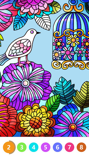 Color by Number: Oil Painting Coloring Book 1.801 screenshots 3