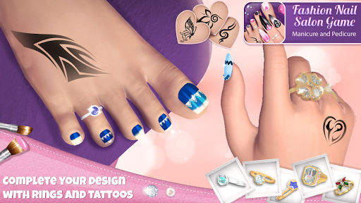 Fashion Nail Salon Game: Manicure and Pedicure App  Screenshots 3