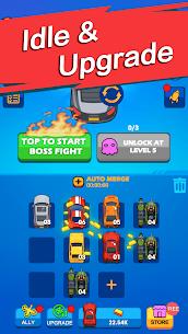 Merge & Fight MOD APK: Chaos Racer (GOD MODE) Download 4