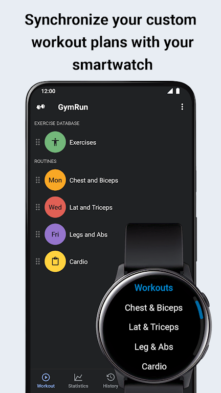 GymRun Workout Log & Fitness Tracker  poster 8