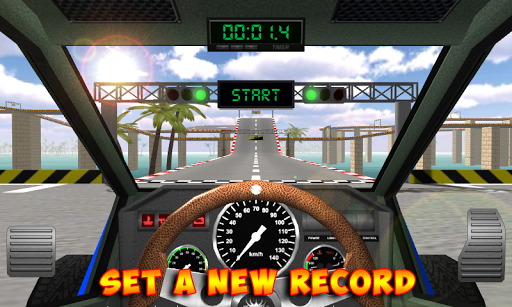 Racing stunts by car. Extreme driving apkpoly screenshots 1