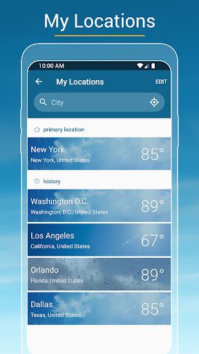 Weather & Radar USA - Severe weather alerts 2020.21.2 screenshots 4