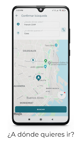 Ualabee -  Routes, stations, stops and schedules  screenshots 2