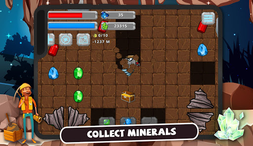 Digger Machine: dig and find minerals 2.7.5 screenshots 8