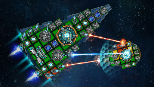 Space Arena: Build a spaceship & fight 2.9.8 screenshots 7