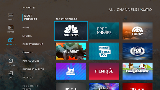 XUMO for Android TV: Free TV shows & Movies 4