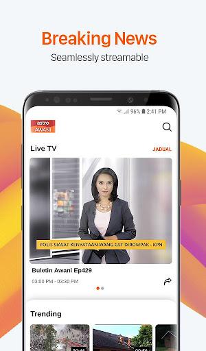 Astro AWANI - #1 24-hour News Channel in Malaysia 5.3.1 screenshots 1