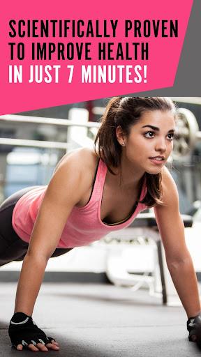 Workout for Women   Weight Loss Fitness App by 7M  screenshots 1