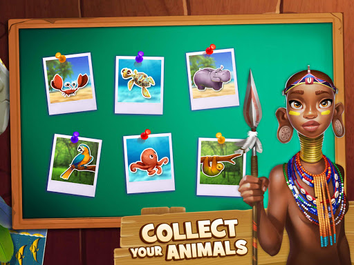 Animal Drop u2013 Free Match 3 Puzzle Game modavailable screenshots 10