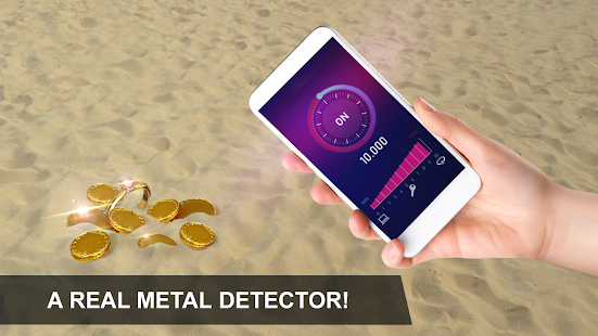Metal detector: body scanner Apkfinish screenshots 7