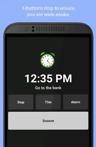 Simple Alarm Clock Free screenshots 3