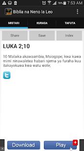 Biblia Takatifu Ya Kiswahili Apps On Google Play