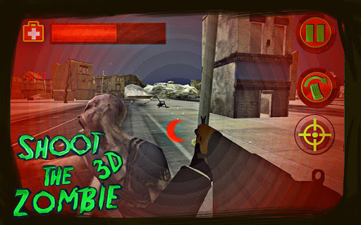 shoot the zombie: dead city 3d screenshot 2
