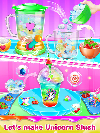 Unicorn Ice Slush Maker 14 Screenshots 9