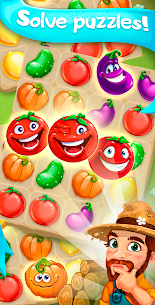 Funny Farm match 3 Puzzle game! 4