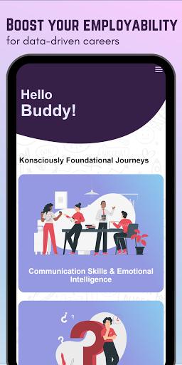 Konsciously: Data, Dev, Tech, Communication Skills  screenshots 1