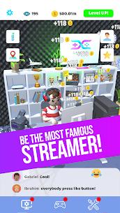 Idle Streamer! APK MOD HACK (Dinero Ilimitado) 1