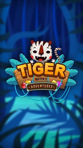 Tiger Adventures - Match 3  screenshots 3