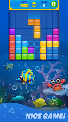 Save Fish - Block Puzzle Aquarium apktreat screenshots 2