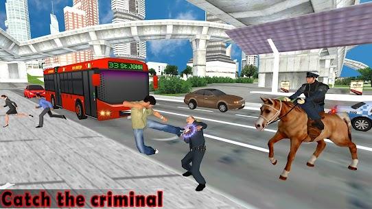 US Police Horse Criminal Chase 1.2 Unlocked APK Mod Free 1