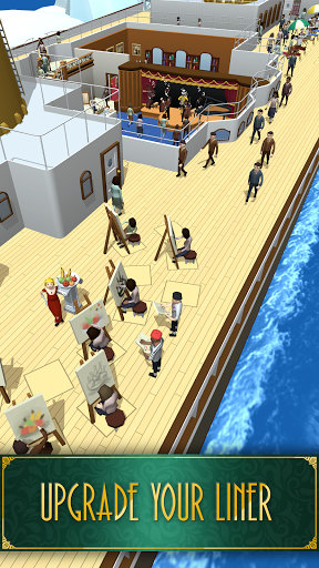 Idle Titanic Tycoon: Ship Game apkdebit screenshots 5