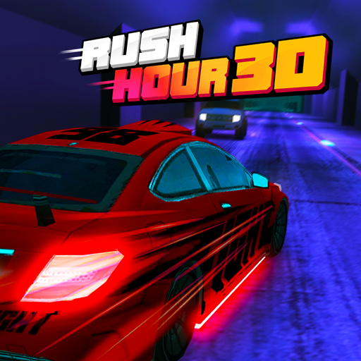 Rush Hour 3D Icon