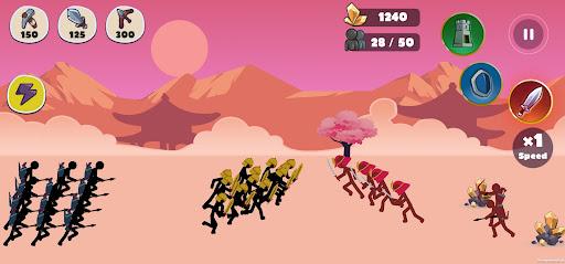 Stickman Battle Empires War  screenshots 4
