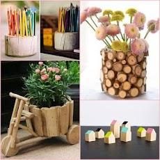 創造的な木材工芸のアイデアのおすすめ画像3