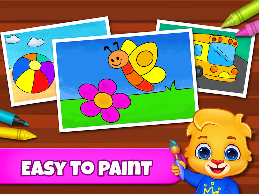 Coloring Games: Coloring Book, Painting, Glow Draw  screenshots 15