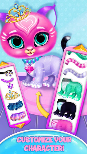 Baby Tiger Care - My Cute Virtual Pet Friend modavailable screenshots 3