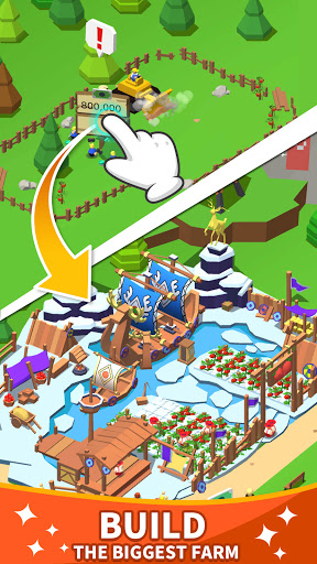 Idle Leisure Farm - Cash Clicker screenshots 1