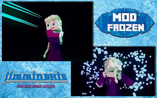 Télécharger Mod Frozen is a free addon skin and new map!  APK MOD (Astuce) screenshots 1