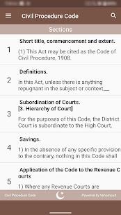 CPC - Civil Procedure Code 1908